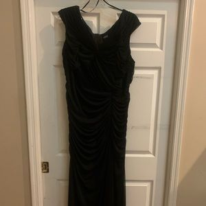 Adrianna Papell Rouched Gown